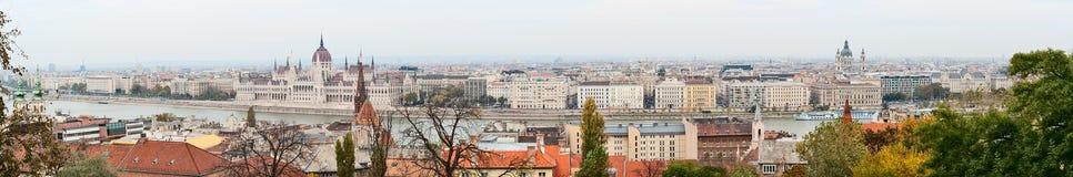 Budapest Panorama Royalty Free Stock Photography