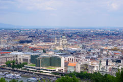 Budapest panorama Royalty Free Stock Images