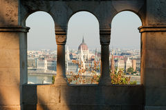 Budapest panorama Royaltyfria Foton