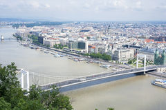 Budapest panorama Royaltyfri Foto