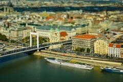 Budapest panorama Zdjęcia Stock
