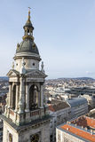 Budapest panorama Arkivbilder