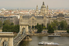 Budapest - panorama foto de stock royalty free
