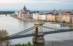 Budapest panorama Stock Photography