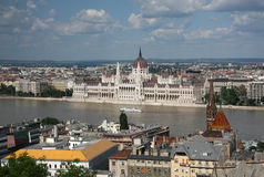 Budapest panorama Royalty Free Stock Photo