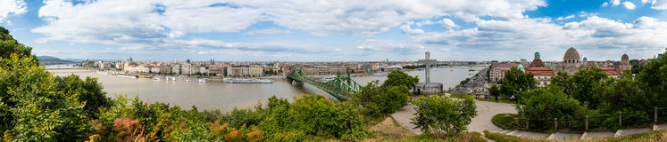 Budapest panorama Stock Images