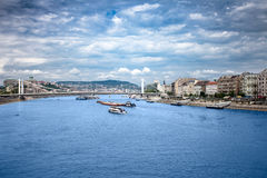 Budapest, panorama Royalty Free Stock Photo