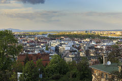 Budapest Panorama.View from Fisherman's Bastion Royalty Free Stock Image