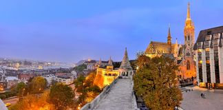 Budapest, panoramic view Stock Photography