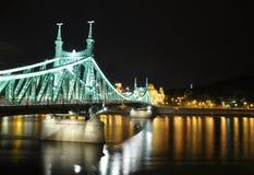 Budapest par nuit photographie stock libre de droits
