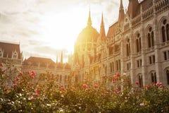 Budapest Pariliament immagini stock
