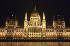 budapest parlament Royaltyfri Fotografi