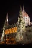 budapest parlament Zdjęcie Royalty Free