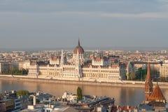 budapest parlament Royaltyfria Foton