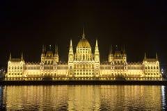 Budapest-Parlament Stockfoto