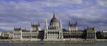 Budapest-Parlament Lizenzfreie Stockfotos