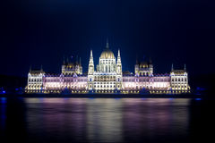 Budapest Parlament Foto de Stock Royalty Free