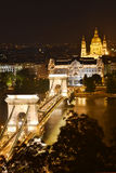 budapest parlament Arkivbilder