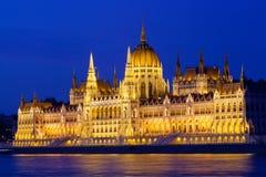 budapest parlament Zdjęcie Stock