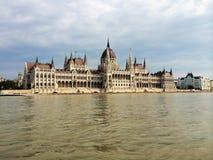 Budapest parlament lizenzfreies stockbild