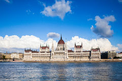 Budapest-Parlament Stockfotografie