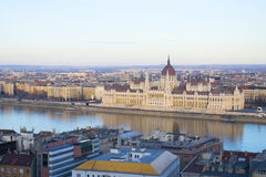 budapest parlament Royaltyfri Foto