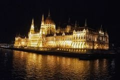 Budapest Parlament Royalty Free Stock Photo