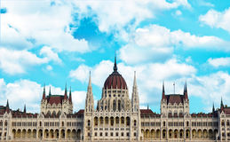 Budapest parlament building Hungary Royalty Free Stock Images