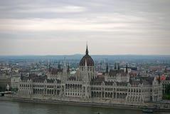 Budapest-Parlament ungarn Lizenzfreie Stockbilder