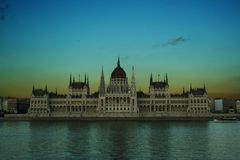Budapest parlament fotografia stock