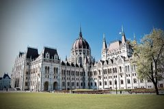 Budapest parlament, Węgry Obrazy Royalty Free