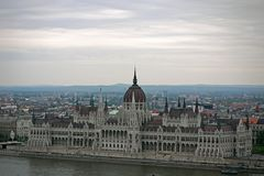Budapest parlament Węgry Obrazy Royalty Free