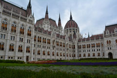 Budapest parlamentbyggnad Royaltyfri Fotografi