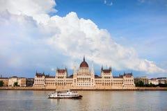 Budapest-Parlaments-Gebäude lizenzfreie stockfotografie