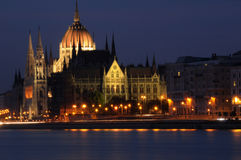 Budapest-Parlamentsgebäude Lizenzfreie Stockfotografie