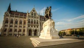 Budapest parlamentu budynek Obrazy Royalty Free