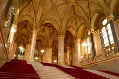 Budapest, parliament Royalty Free Stock Photo