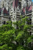 Budapest Parliament. Detail of Hungarian Parliament in Budapest royalty free stock photography