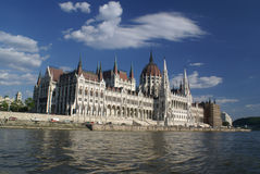Budapest - parliament Royalty Free Stock Image
