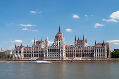 Budapest Parliament. House in the morning Stock Photo