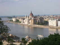 Budapest parliament. The Parliament in Budapest Hungary Royalty Free Stock Photo