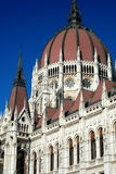 Budapest Parliament Royalty Free Stock Photo