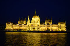 Budapest Parliament Building Stock Image