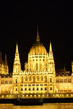 Budapest Parliament Building Royalty Free Stock Images