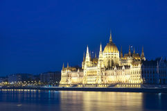 Budapest parliament building Royalty Free Stock Photo