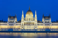 Budapest parliament building Stock Photo