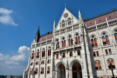 Budapest Parliament Building stock photography