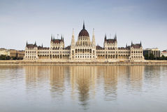Budapest Parliament Building - Hungary. The famous landmark from Budapest - the old Parliament Palace Stock Image