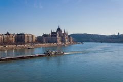 The Budapest parliament royalty free stock photography
