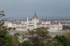 Budapest Parliament Royalty Free Stock Photos